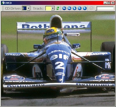 X-VCD Player Screen shot