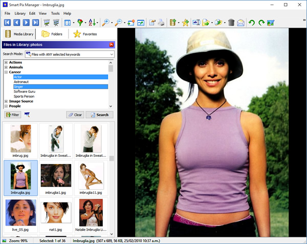 Click to view Smart Pix Manager screenshots